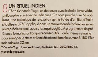 Soins et massages ayurvédiques à Bordeaux