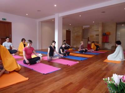 Méditation et relaxation au centre ysananda yoga à bordeaux