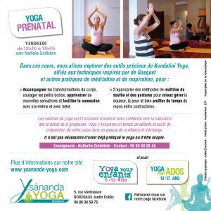 yoga prénatal bordeaux