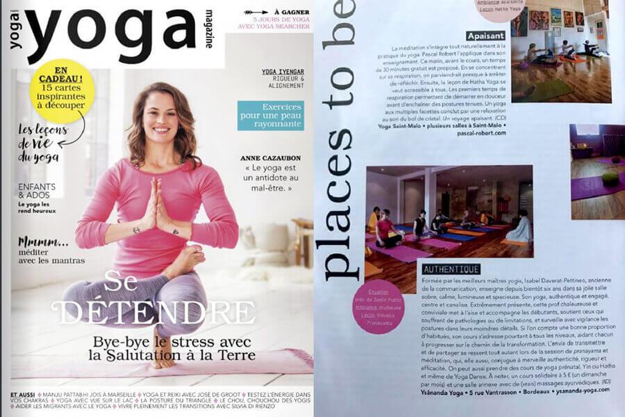 Yoga Magazine - Avril 2018
